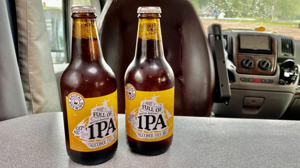 Alkoholfri öl test - A ship full of IPA