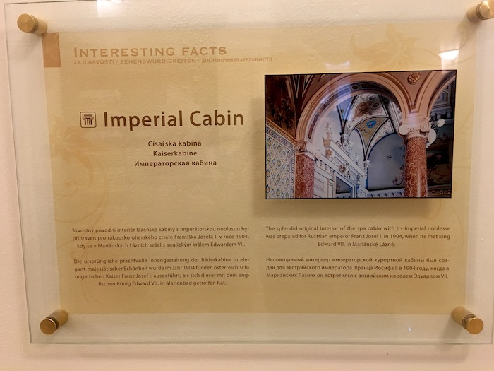 Imperial cabin spa