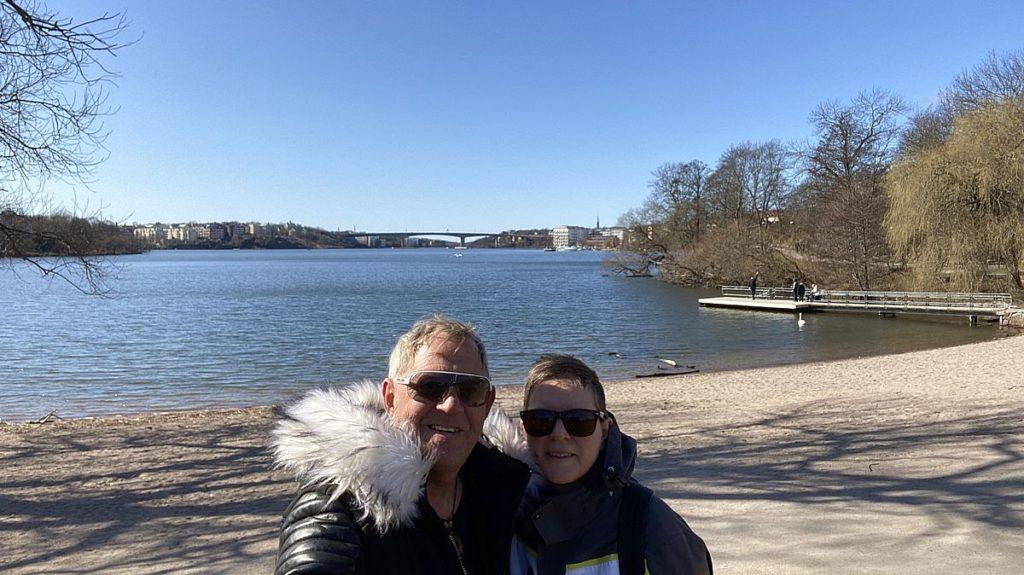 Parker i Stockholm - Peter och Helena
