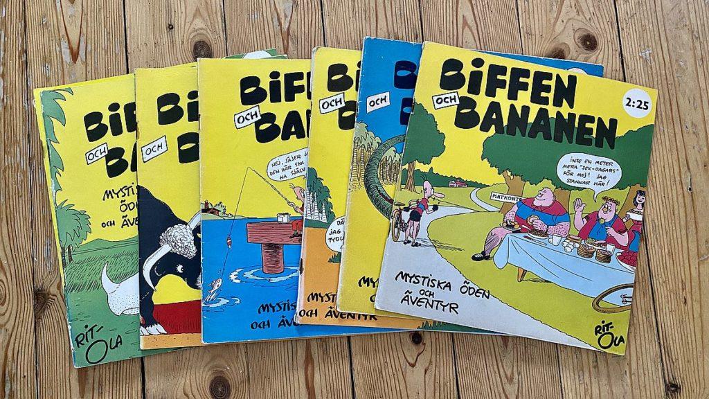 Gamla serier - Biffen och bananen