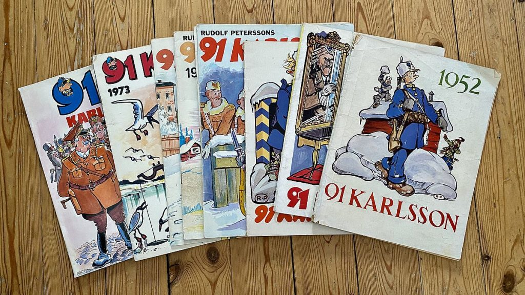 Gamla serier - 91 Karlsson