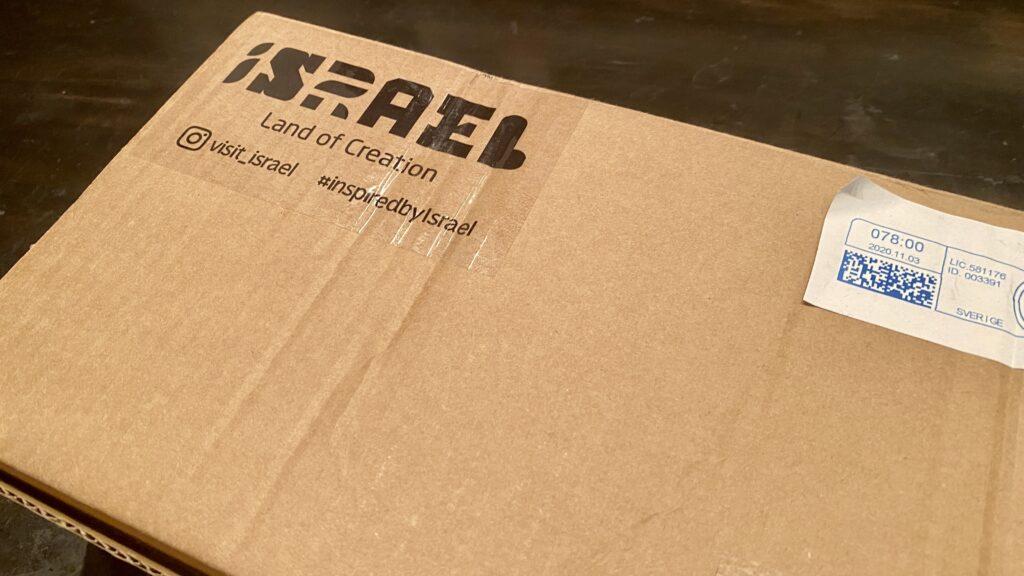 Paket från Israel