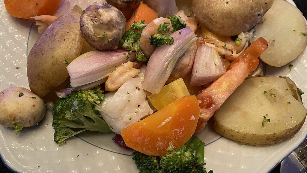Maträtt boostad med vitaminer och mineraler