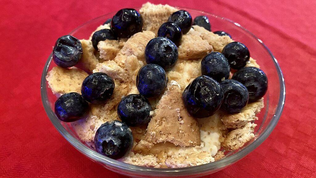 Efterrätter till nyår - med blåbär