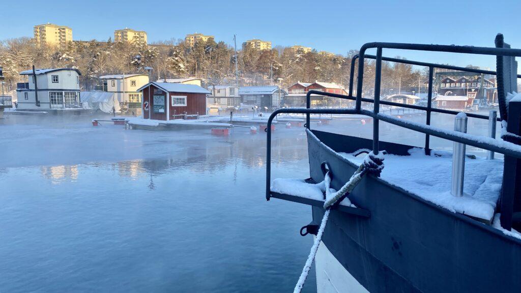 Vinter i marinan