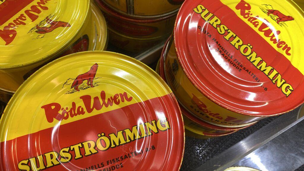 Svensk mat - surströmming
