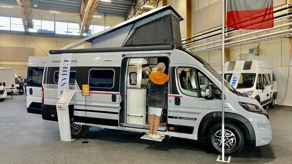 Husvagn & Husbilsmässa 2021 - Twin sport