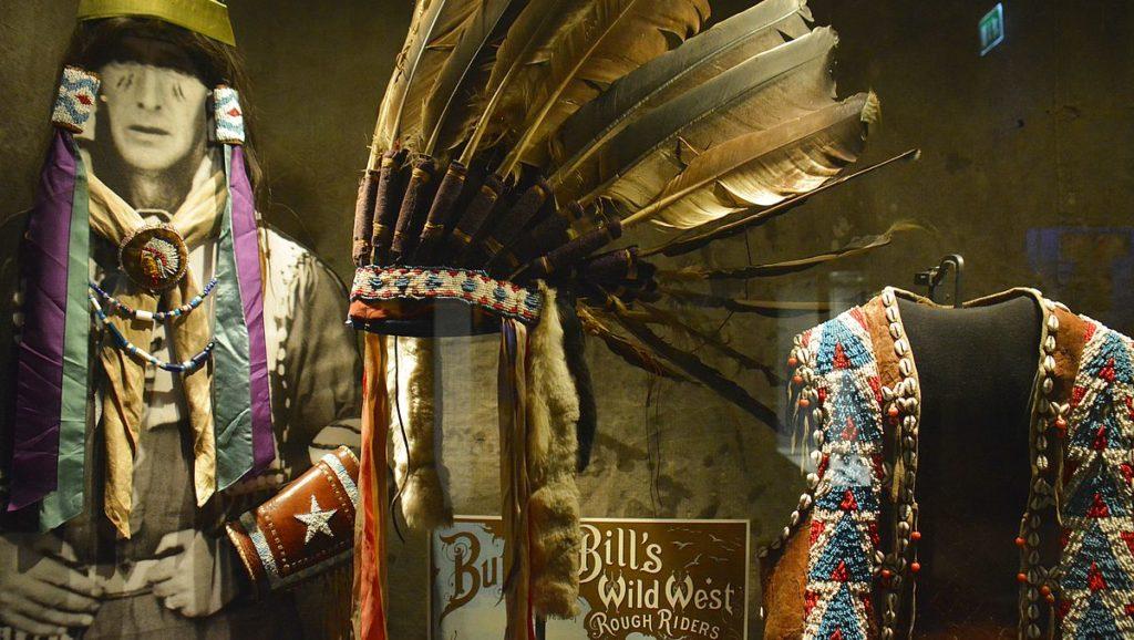 Indianer på Etnografiska museet i Stockholm