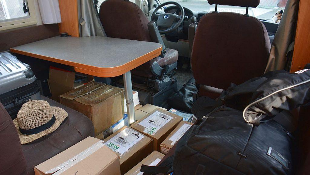 Packning för Elmia