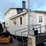 Inflyttning i husbåt