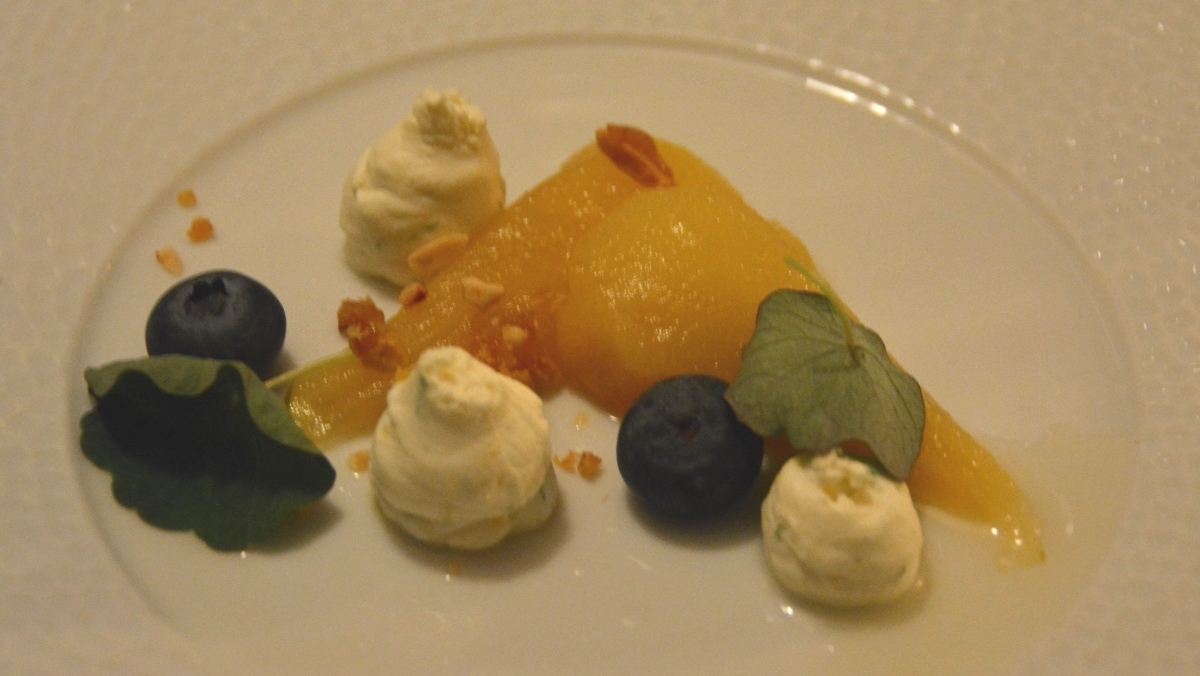 Inlagda päron med mascarpone
