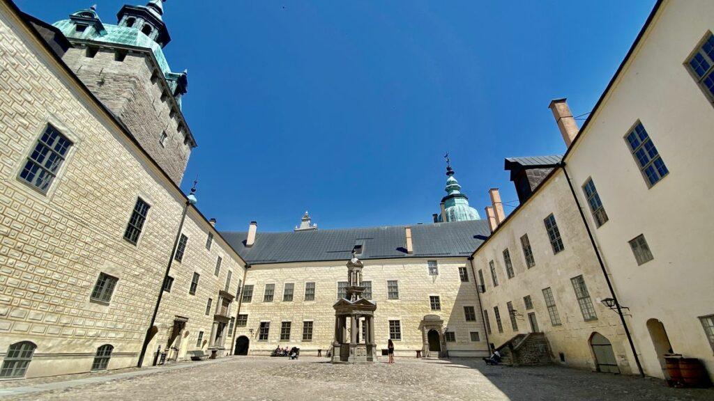Kalmar slott innergård