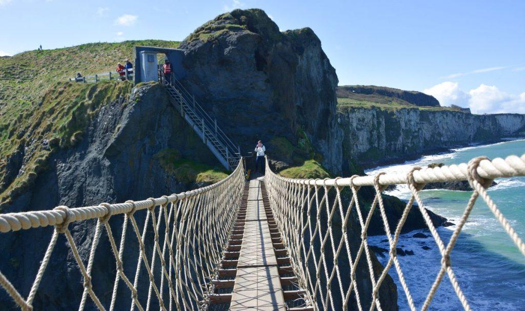 Irland rope bridge