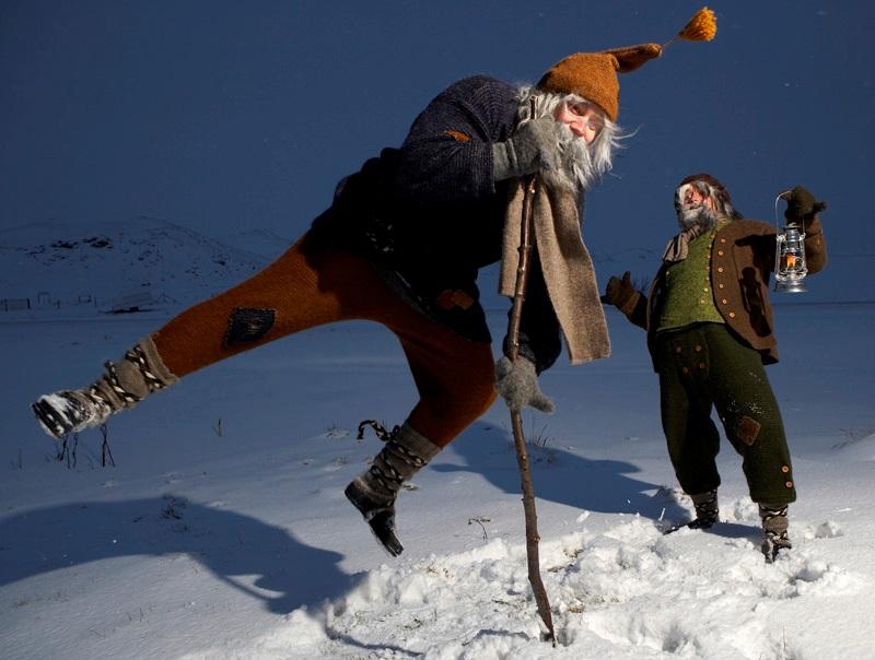 Jultomtar på Island