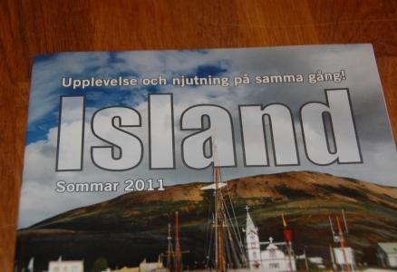 Islandia Resor gjorde reklam för resor till Island. Jag bodde där ett år 1992-93, men nu är det länge sen jag var där... Skulle vara kul att åka dit igen! Nu, efter den finansiella krisen, är ju priserna bättre också...