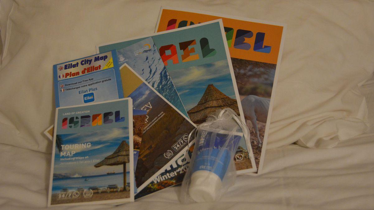 Att flyga till Eilat