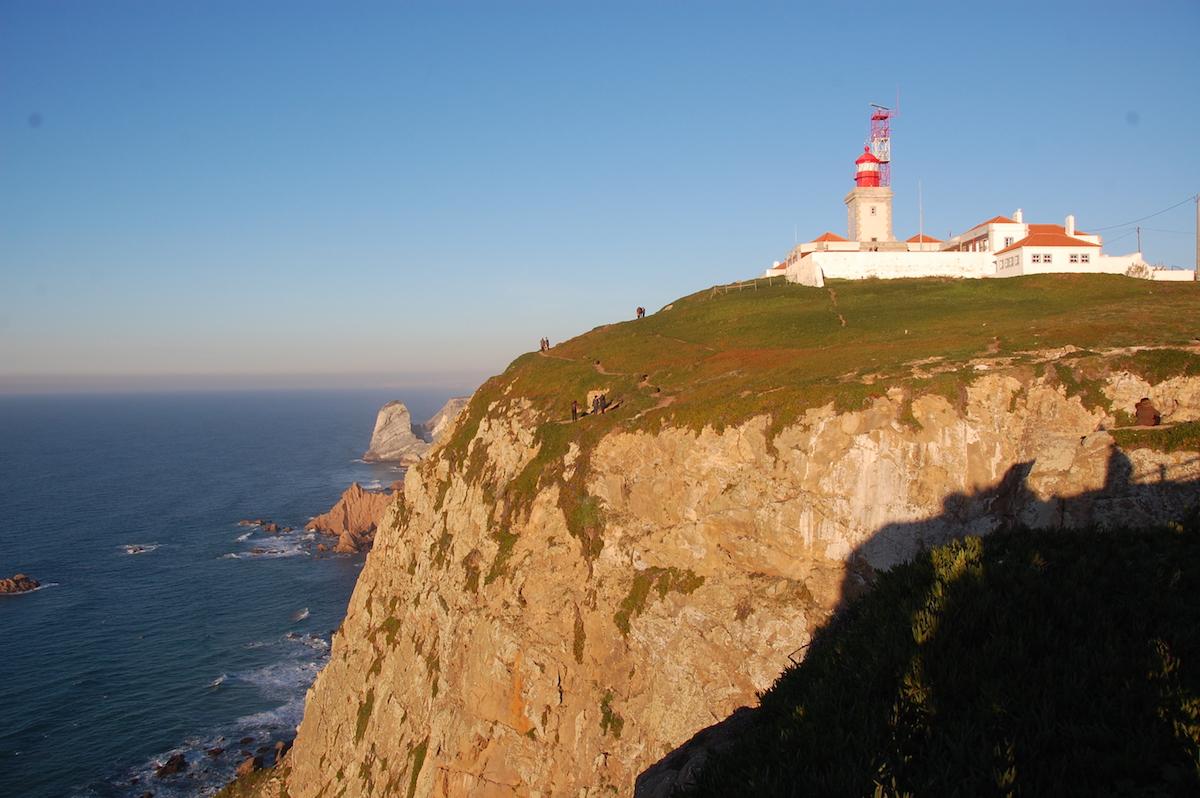 Udden Cabo da Roca - Europas västligaste punkt
