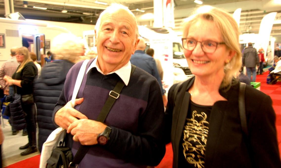 Jakob och Yvonne från bloggen JoY tillsammans
