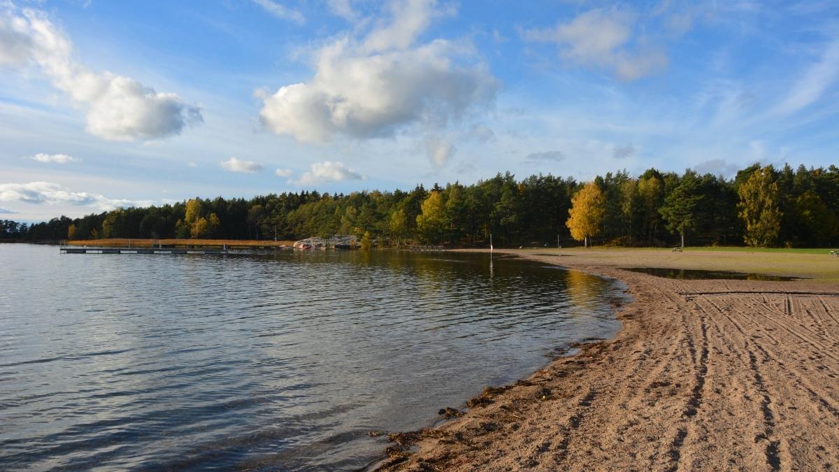 Jogersö strand