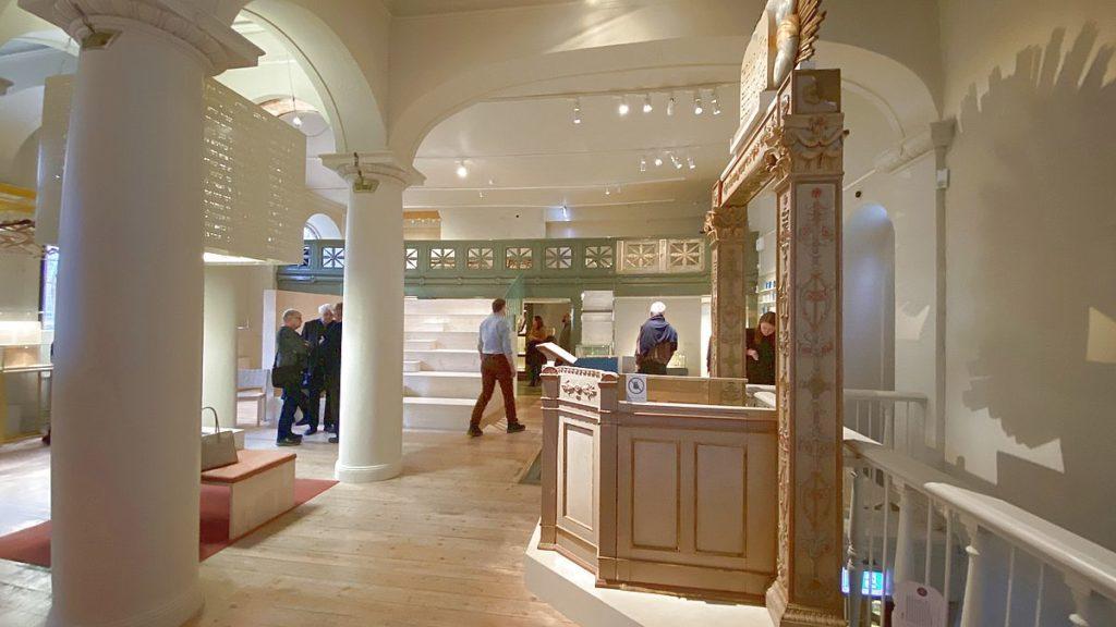 Judiska museet i Stockholm i Stockholms äldsta synagoga