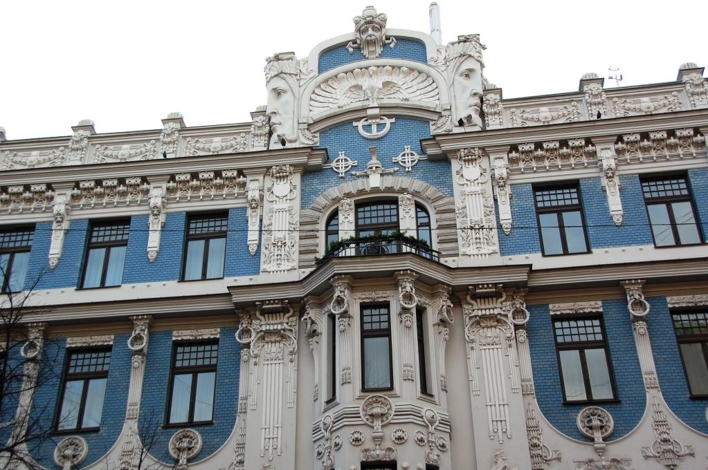 Jugendhus i Riga, Lettland