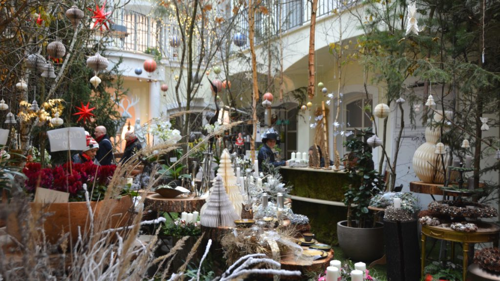 Pop up julbutik i Prag