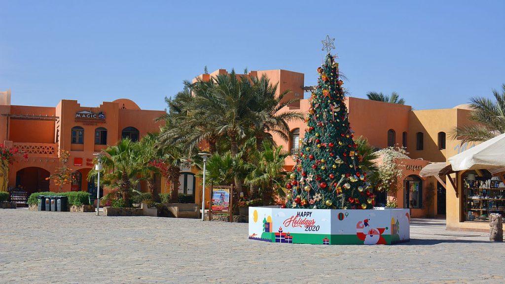 Julgran i Egypten