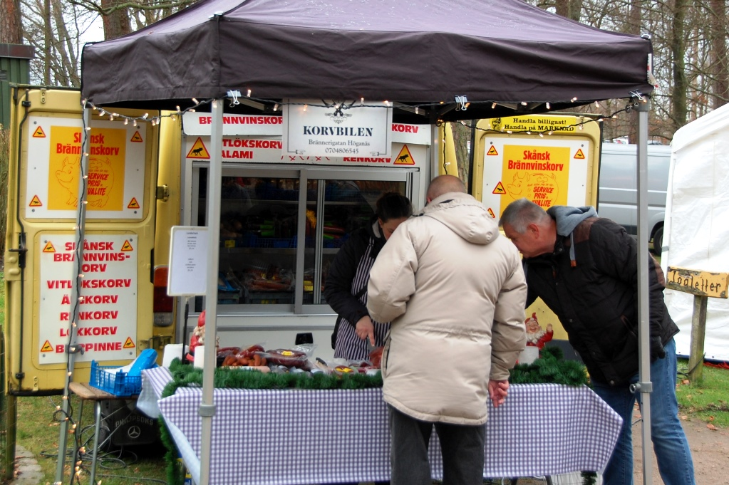 Julmarknad i Ängelholm