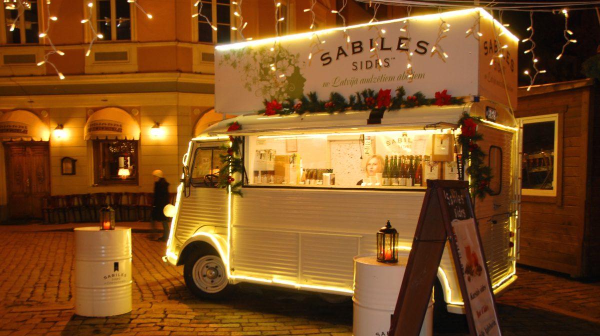 Julmarknad i Riga