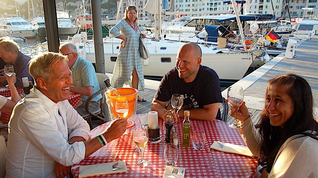 Restaurang i Bonifacio