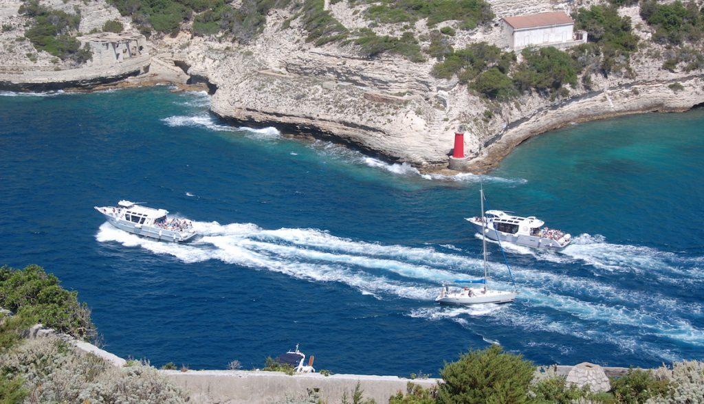 Fjorden i Bonifacio