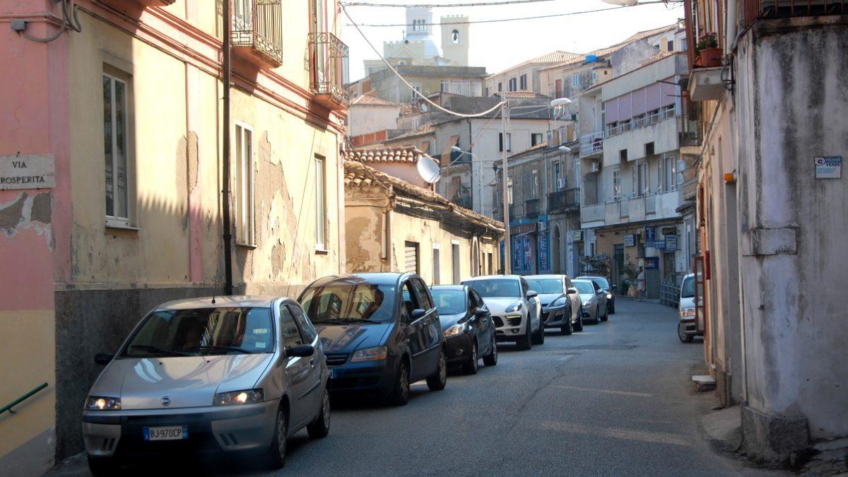 Köra bil i södra Italien