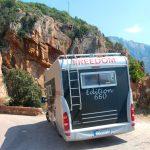 Dramatiska vägar på västra Korsika