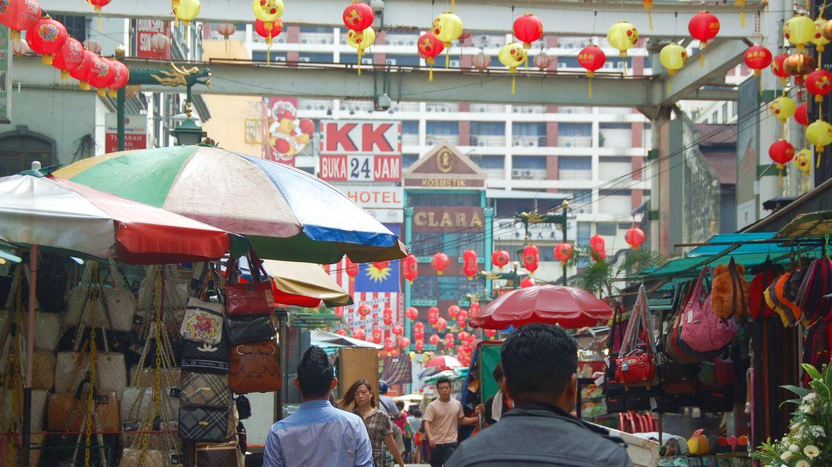Chinatown i Kuala Lumpur