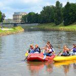 """Ostravas """"vulkan"""" och båttur på floden Ostravice"""
