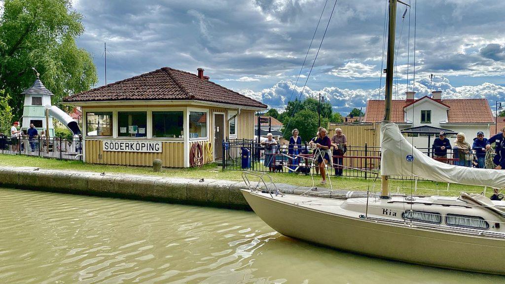 Sluss Göta kanal