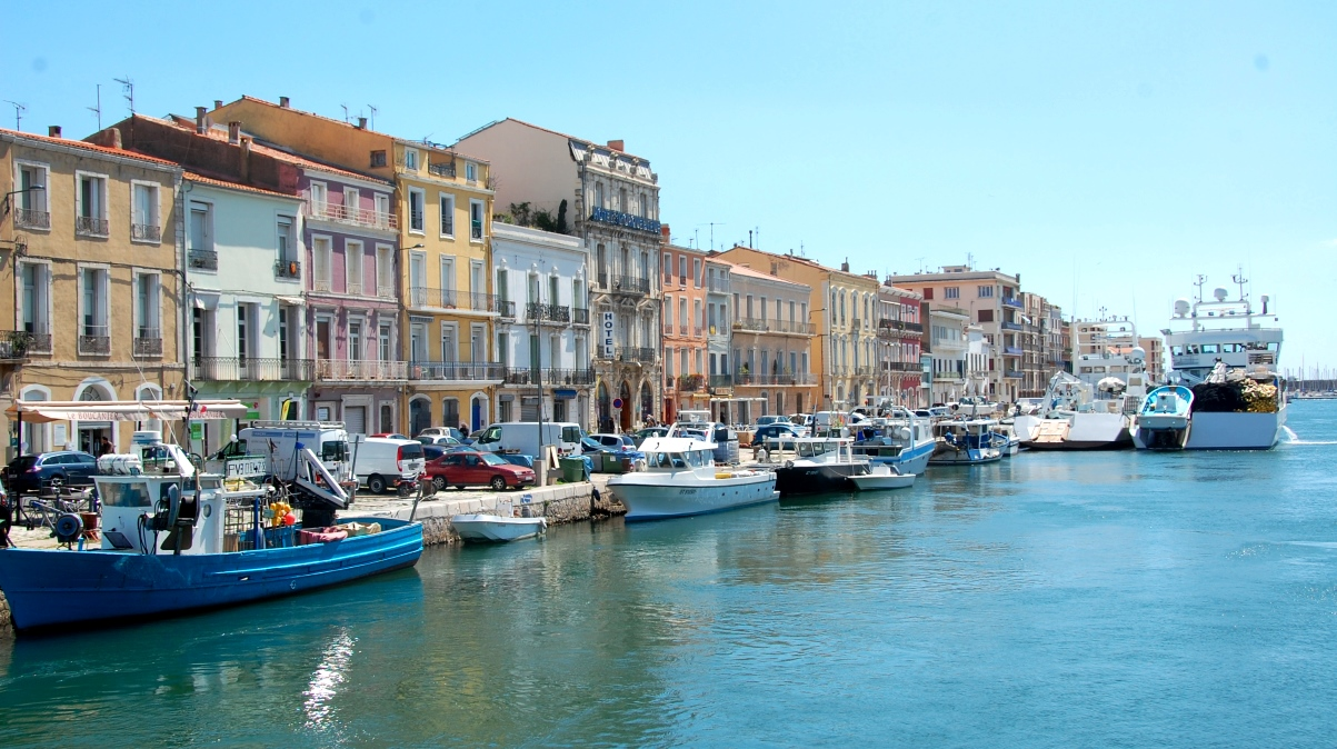 Kanaler i Sete i Frankrike