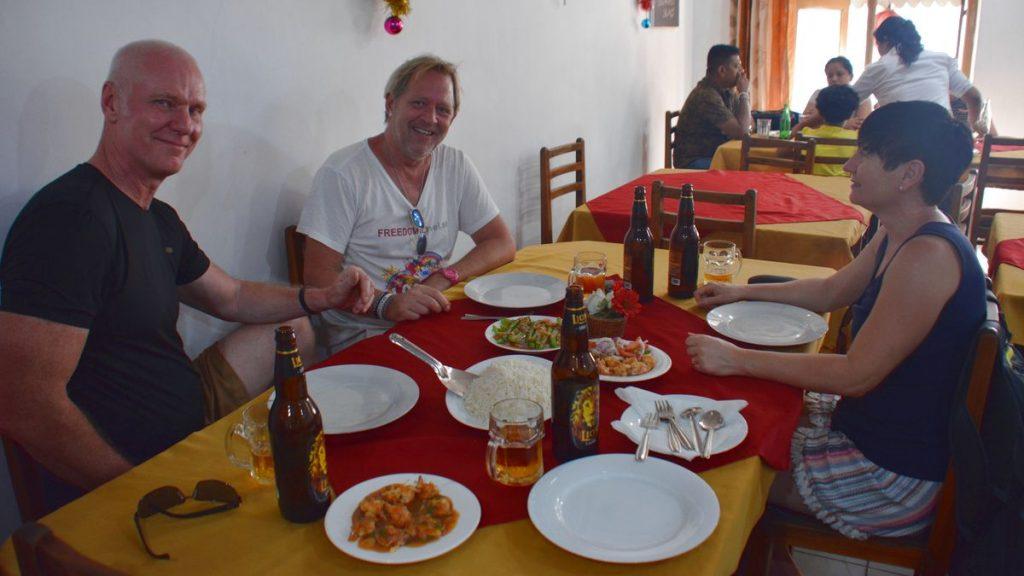 Kinarestaurang i Kandy