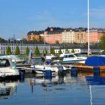 Sommar vid Karlbergssjön i Stockholm