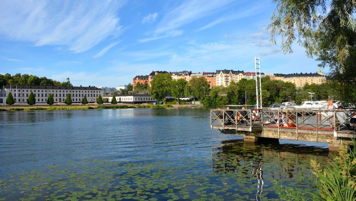 Karlbergssjön brygga