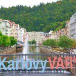 Karlovy Vary eller Karlsbad – en kurort i Tjeckien