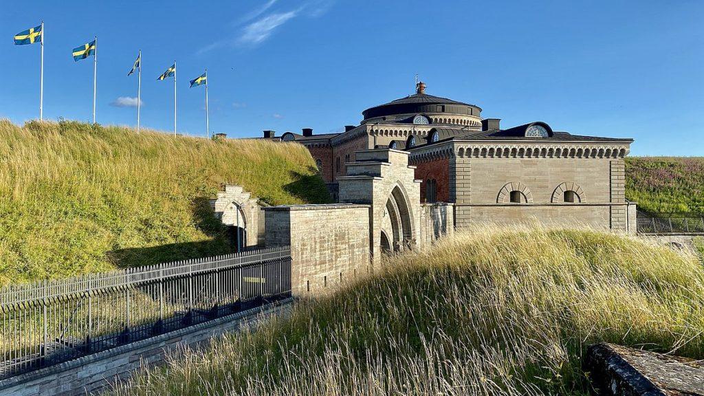 Göta kanal med husbil - Karlsborgs fästning