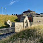 Karlsborgs fästning – mäktigt 1800-talsbygge vid Vättern