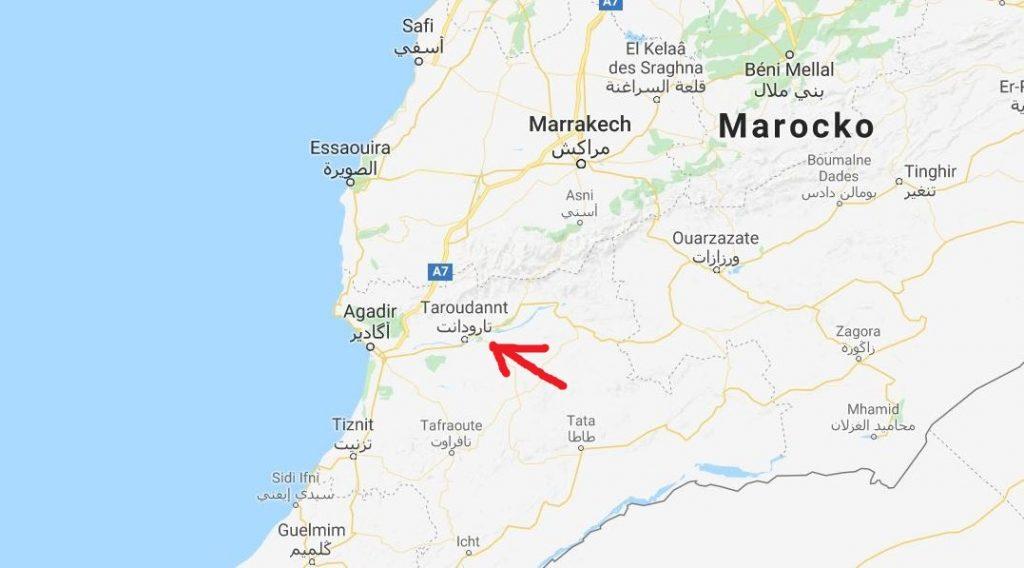 Karta Taroudant
