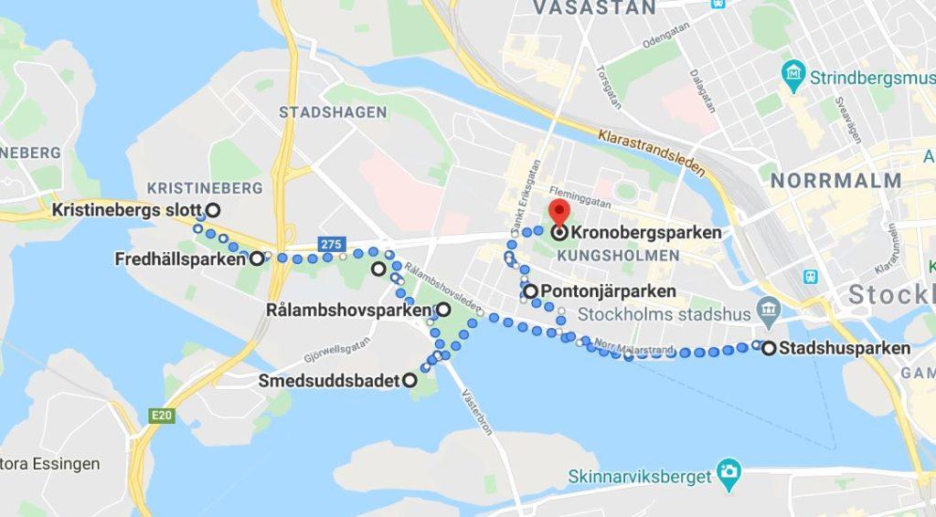 parker på Kungsholmen