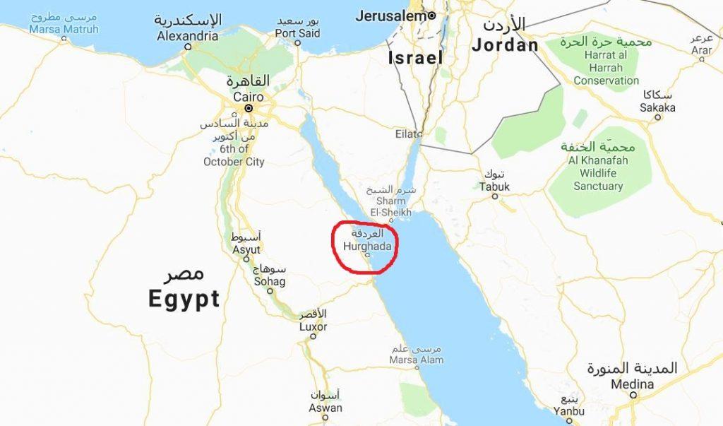 Karta Egypten