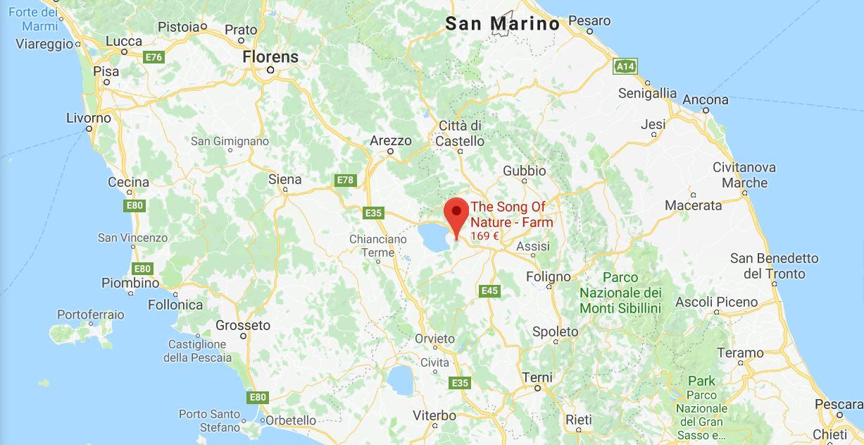 Gammal Karta Italien.Karta Norra Italien
