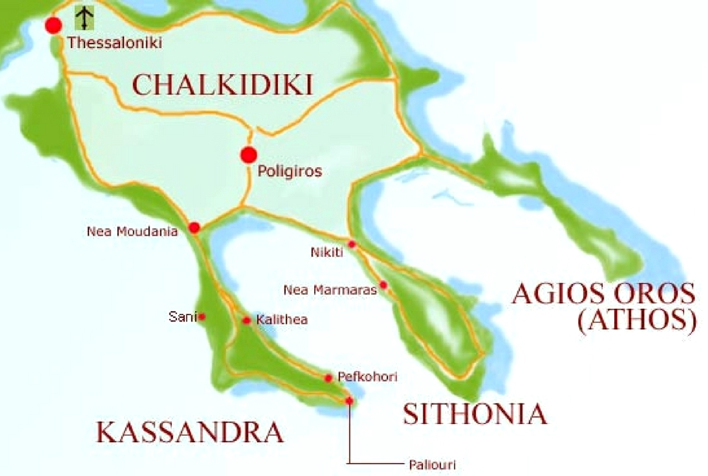Kassandra - Greklands riviera