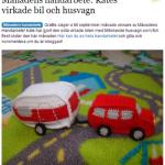 Ett litet litet husvagnsekipage