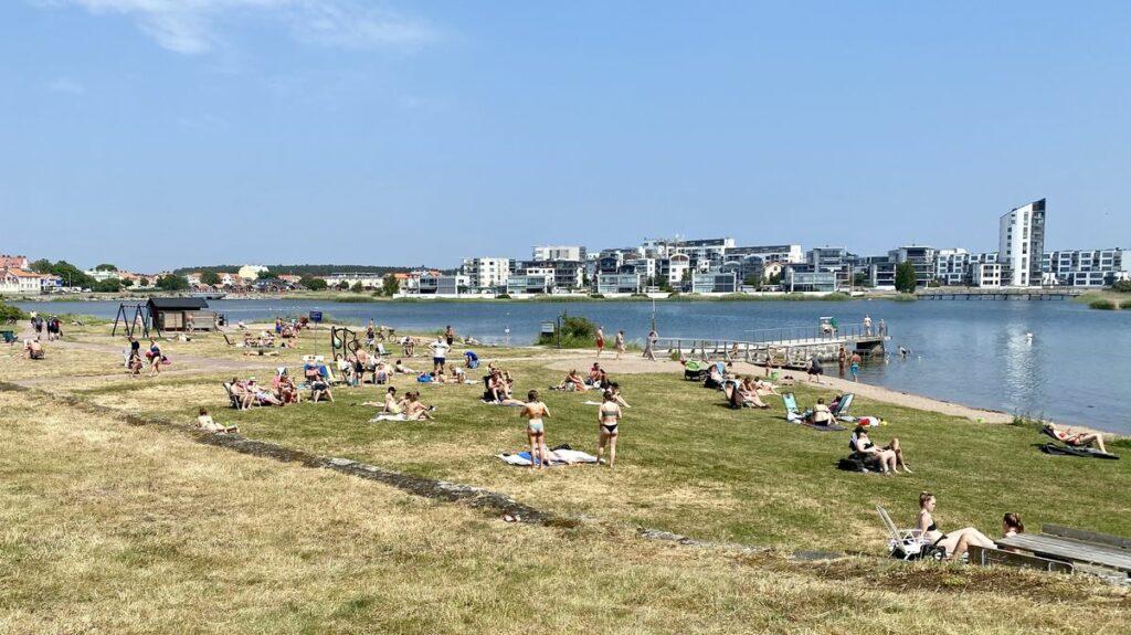 Göra i Kalmar - bada vid Kattrumpan